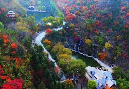 济南九如山风景区图片
