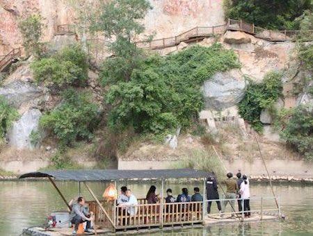 宁明花山岩画文化景区_旅游互联