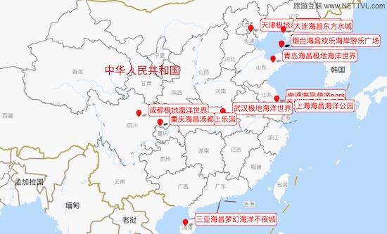 海昌景区分布图_旅游互联