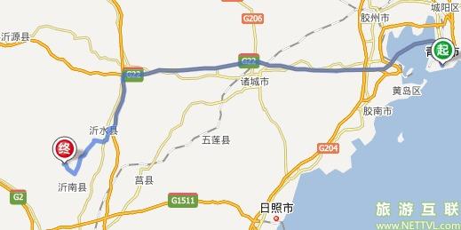 青岛到临沂车多久_青岛到临沂红石寨自驾车路线?