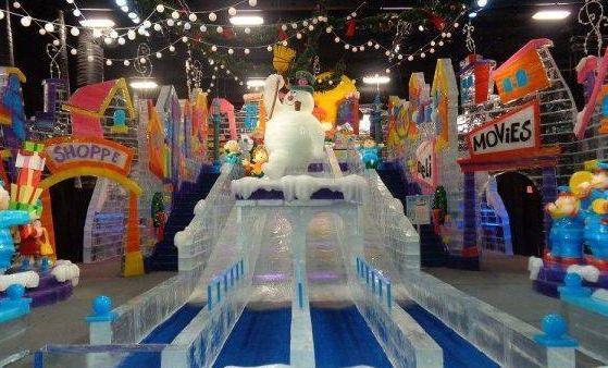 华南摩尔冰雪世界有宾馆吗?