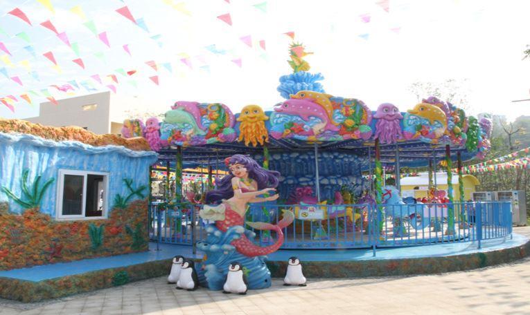 3大特色好玩的地方 好玩1 绵阳梦幻岛欢动世界位于东原长岛之畔,周边