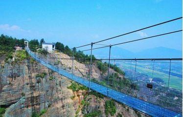 揭阳望天湖玻璃栈道:2018春节期间向游客开放