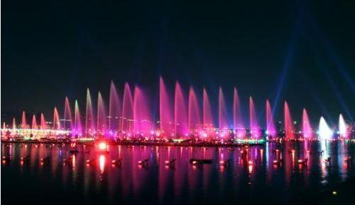 苏州金鸡湖音乐喷泉时间?图片