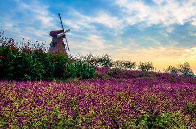 中国官塘湖生态旅游风景区于七月一日起正式对外开放,它是集婚庆