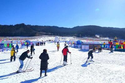 西宁金帝顺滑雪场_旅游互联